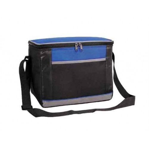Thermal Insulated Cooler Bag With Shoulder Strap And Front Pocket