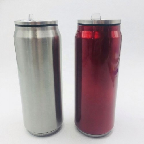 Stainless Steel Coca Cola Can Shape Vacuum Coke Bottle -Promotional Gifts