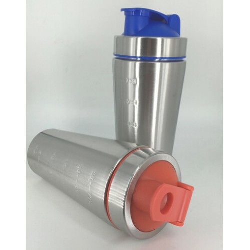 Metal Stainless Steel Shaker Bottle