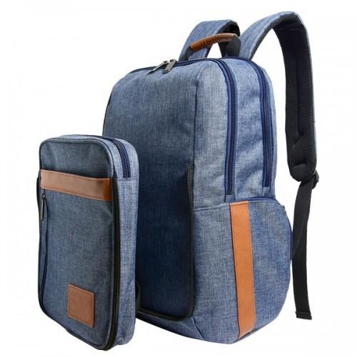 Detachable Front Pocket Computer Backpack