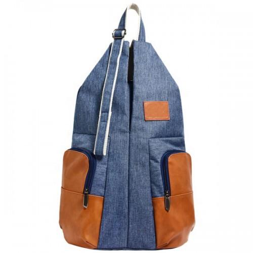 Anti-Thief Denim Travel Backpack Bag