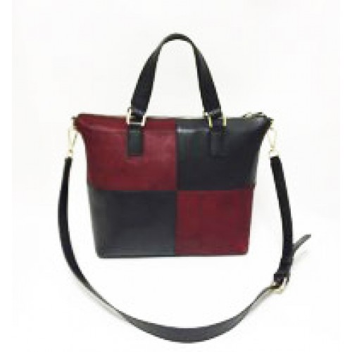 Mix and Match Full Grain Leather Ladies Tote Bag / Cross Body Bag