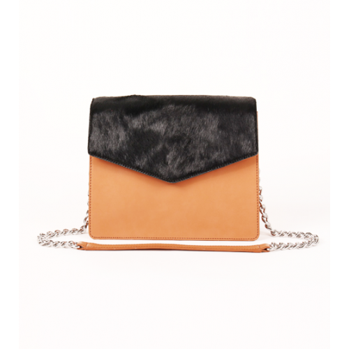 Full Leather Evening bag / Cross Body Bag