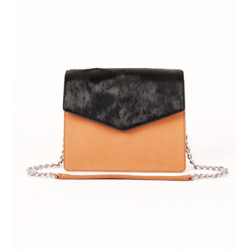 Full Leather Evening bag / Cross Body Bag