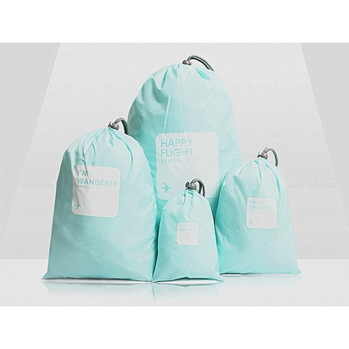Waterproof Nylon Bags and Pouch ( 4 in 1 set)