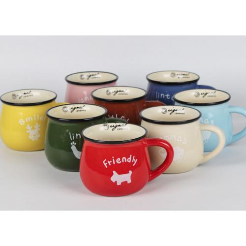 Creative Breakfast Mug with Custom LOGO