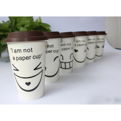 Creative Ceramic cups ( customised logo)