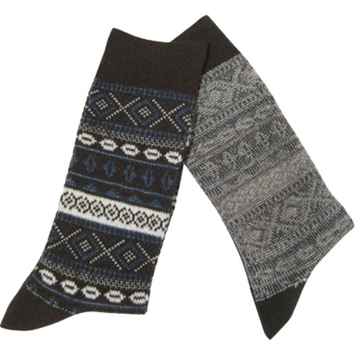 Men's Jacquard Cotton Socks