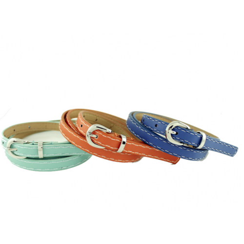 Ladies' Imitation leather Buckle Belt