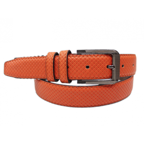 Ladies' Buckle Limitation Leather Belt