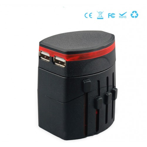 Universal Travel Adaptor USB2.1A
