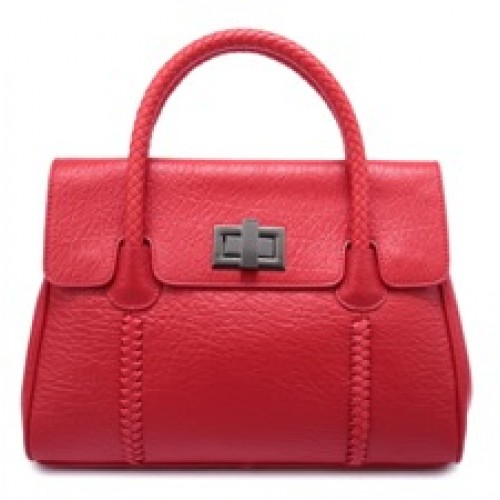 Ladies Split Leather Tote Bag