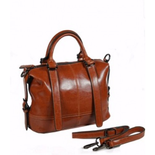Ladies Split Leather Messenger Bag
