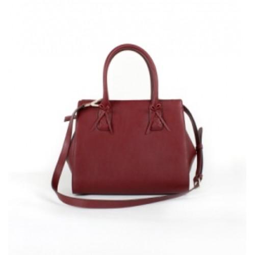 Simple Ladies Split Leather Tote bag / Cross Body Bag