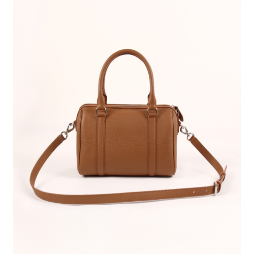 Ladies Simple Full Grain Leather Tote Bag / Cross Body Bag