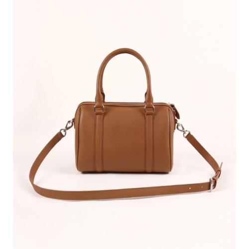 Ladies Simple Full Grain Leather Tote Bag / Cross Body Bag