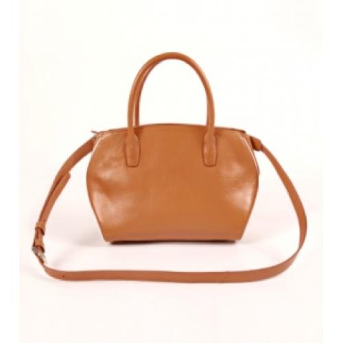 Simple Ladies Full Grain Leather Tote Bag / Cross Body Bag