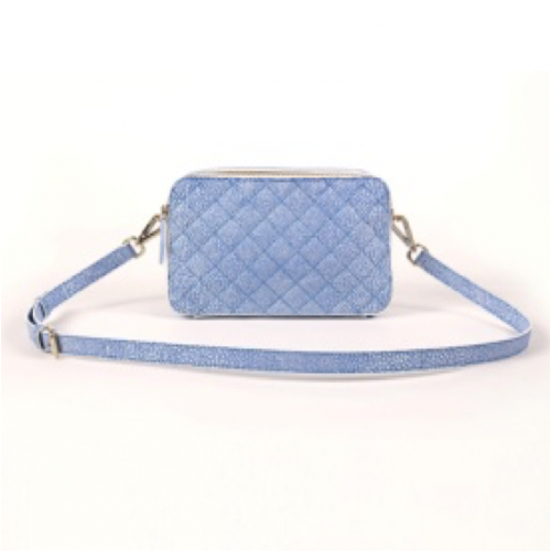 Ladies Split Leather Clutch Bag / Cross Body Bag