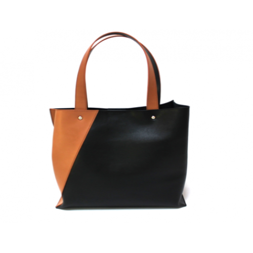 Mix and Match Ladies Full Leather Tote Bag