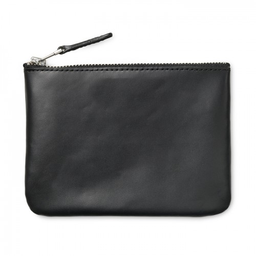 Men's Split Leather Coins Bag