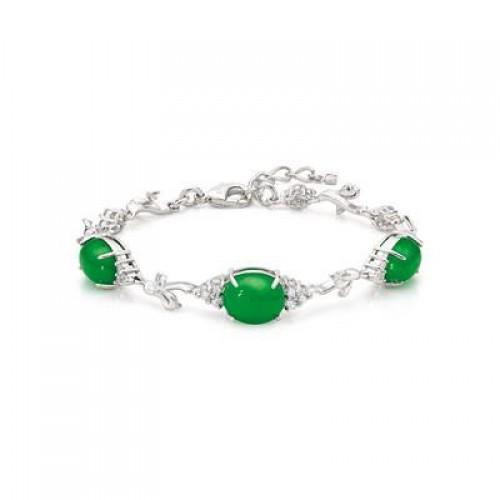 IMPERIAL 'Lux' Burmese Jade Bracelet