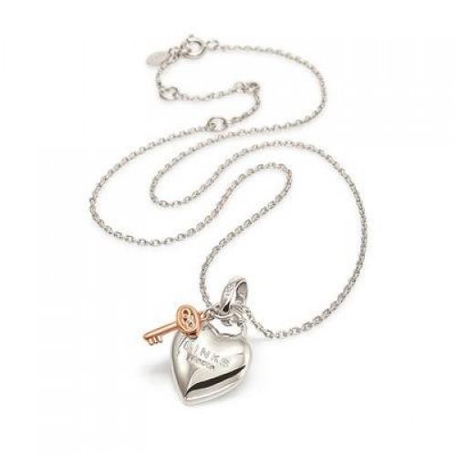LINKS OF LONDON Heart Padlock Necklace