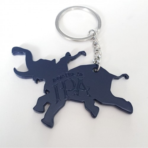 Blue Elephant Key Chain / Bottle Opener