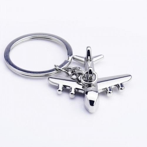 Airplane Metal Key Chain -  Aviation Industry Advertising Gifts