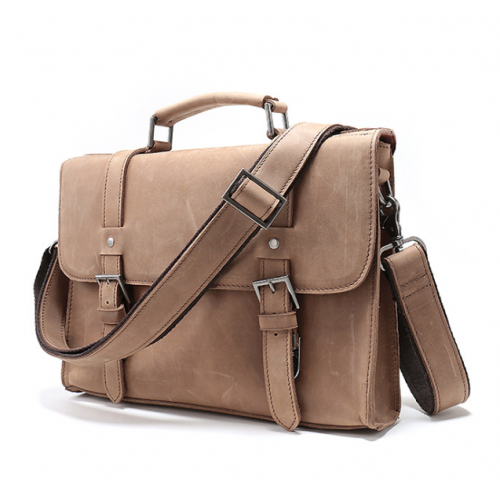 Men's Leather Cross Body Bag / Messenger Bag