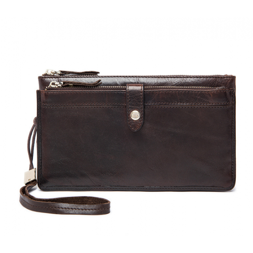 Men's Leather Clutch Bag