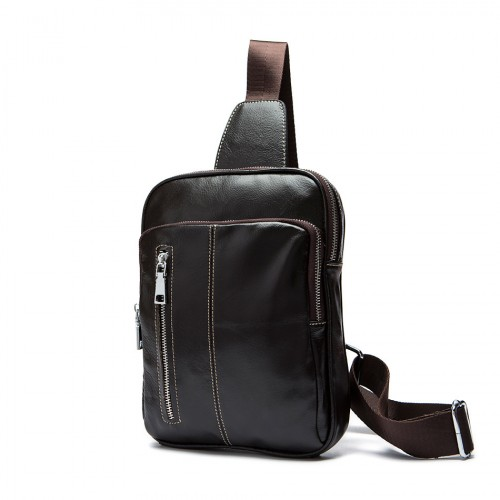 Men's Leather Cross Body Bag