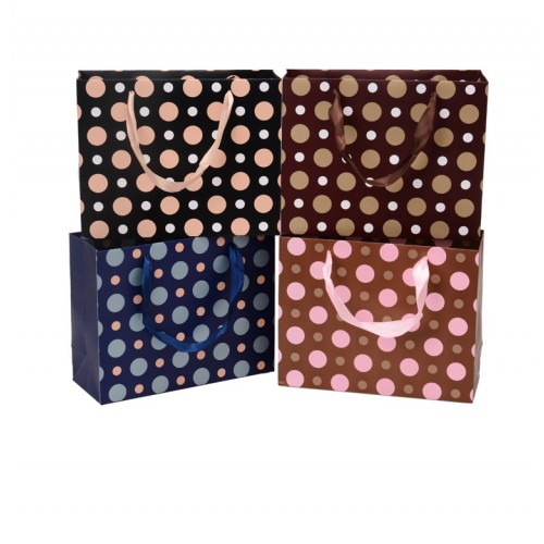 Dots Pattern Holiday Gift Bag / Paper Bag