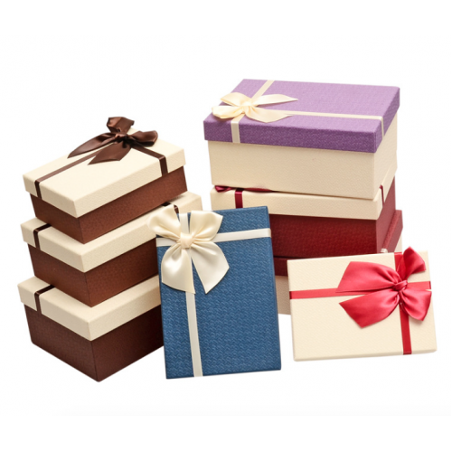 Bow -Knot Rectangle High Grade Gift Box