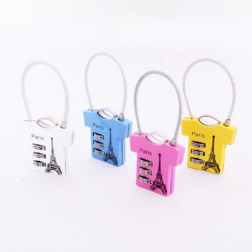 T Shirt Shape Padlock