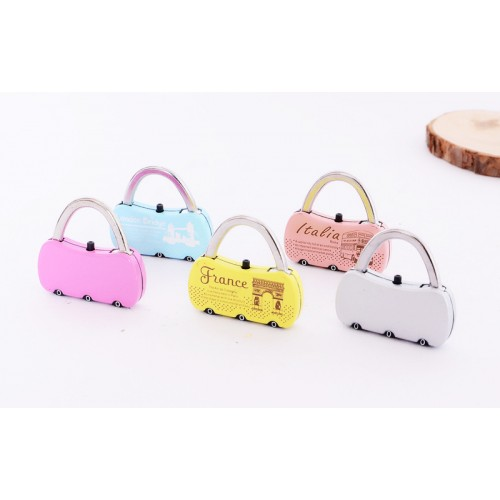 Handbag Shape Padlock/ Travel lock --- OEM