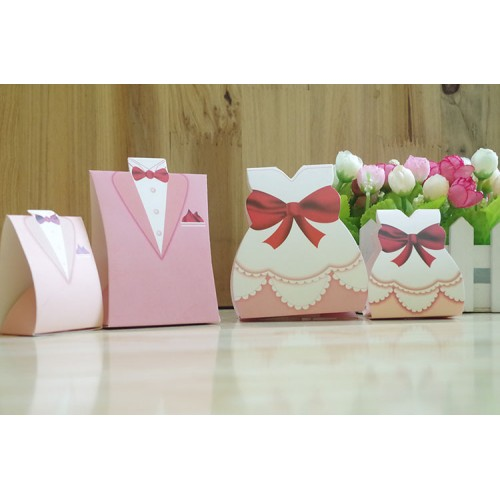 Creative European Style Wedding Candy box - Wedding Favors Gifts Box