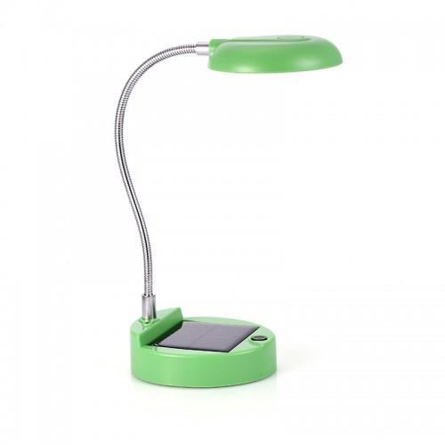 LED Solar Energy Folding Desktop Lamp With USB Charging Cable
