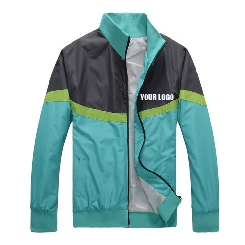 Advertising Windbreaker Customized Printing Logo Jacket