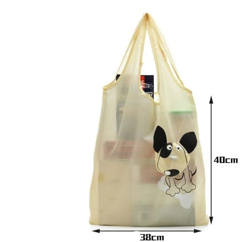 Creative Cartoon Folding Recycle shopping bag - can add advertising Logo