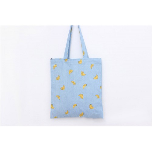 Banana Printing Canvas Shopping Bag / Recycle Bag