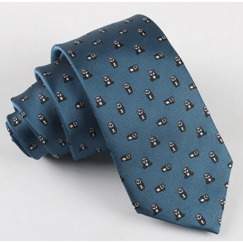 Men's Panda Pattern Fashion Tie