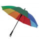 Colorful Advertising Umbrella