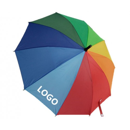 Colorful Advertising Umbrella