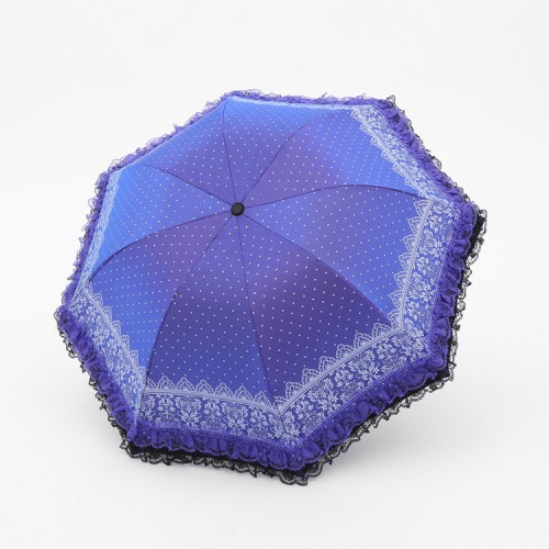 Double Lace Anti-UV Umbrella