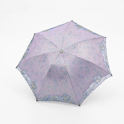 UV Protection Embroidered Umbrella