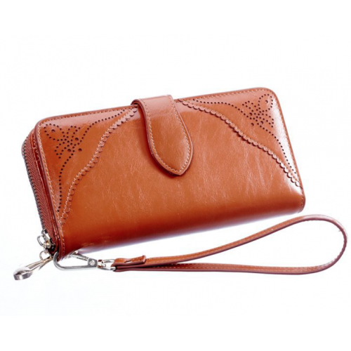 Ladies' Cow Leather Wallet
