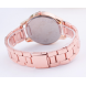 Fashionable Gold-Plated Steel Band Quartz Watch