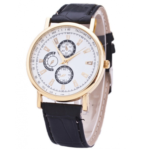 Fashionable Men's Simple Quartz Watch