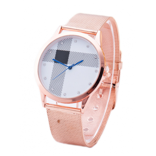 Fashionable Ladies Metal Watch