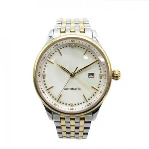 Classic Stainless Steel Quartz Watch for Couples